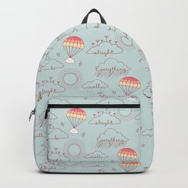 Everything will be alright pattern Backpack