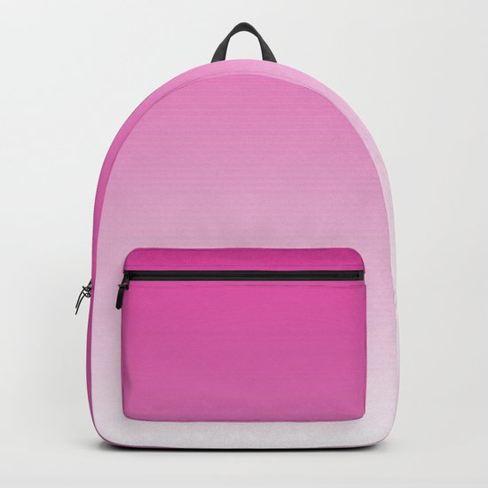 Simply girly pink color gradient - Mix and Match with Simplicity of Life Backpack