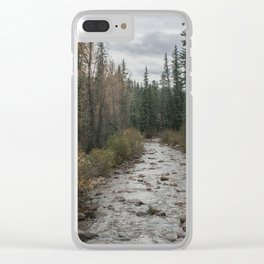 Rocky River Autumn Clear iPhone Case