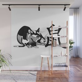 Year of the Rat Wall Mural