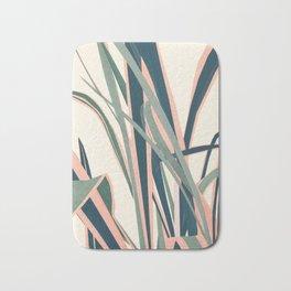Colorful Plant Bath Mat