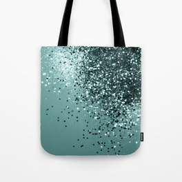Teal Mermaid Ocean Glitter #1 #shiny #decor #art #society6 Tote Bag