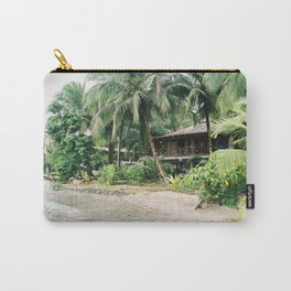 The beach house | Panama travel photography | At the jungle Carry-All Pouch
