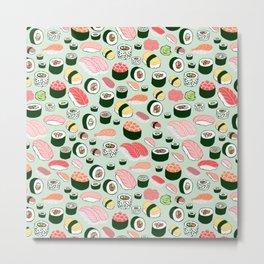 Sushi Love Metal Print
