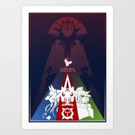 Matrix Dreamers   Digimon Tamers Art Print