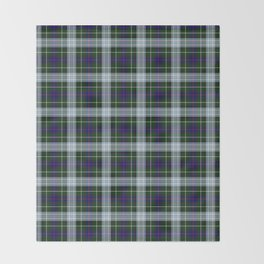 Clan MacKenzie Tartan Throw Blanket
