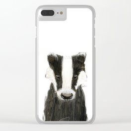 little badger Clear iPhone Case