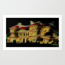 The Breakers at Night - Newport, Rhode Island by Jeanpaul Ferro Art Print