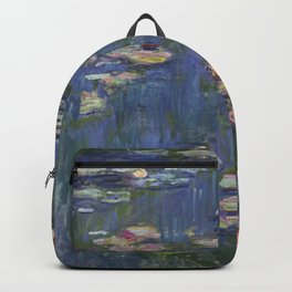 Water Lilies - Claude Monet Backpack