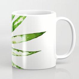 Green ink painting - fern Coffee Mug