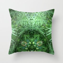 In A World Of Our Own Throw Pillow