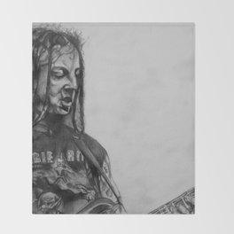 Bobby Koelble Drawing Throw Blanket