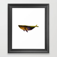 Down by the sea Framed Art Print