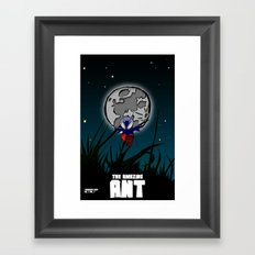 The Amazing Ant #1 Framed Art Print
