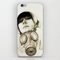 majoras mask iPhone & iPod Skins featuring MASK by lantomo