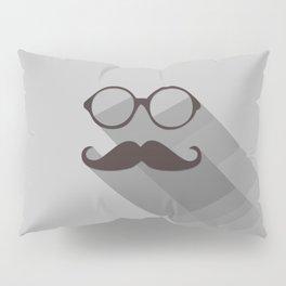 Hipster Mustache Pillow Sham