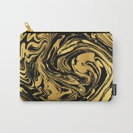 Black and Gold Marble Edition 2 Carry-All Pouch