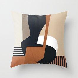 Abstract Art7 Throw Pillow