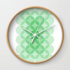 Geometric Abstraction III Wall Clock