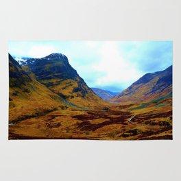 Glencoe, Scottish Highlands, in the Autumn Rug