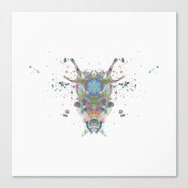 Inkdala LXXXII Canvas Print