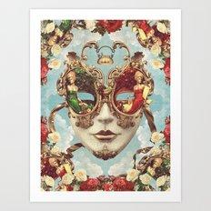 Floral Opulence Art Print