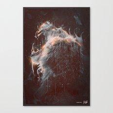 DARK LION #2 Canvas Print