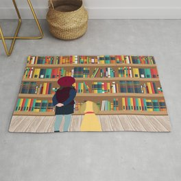 Take a book to kennel Rug