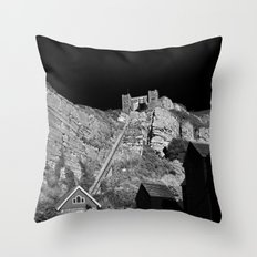 East Hill Cliff Railway Throw Pillow