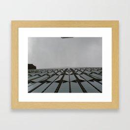 Bottom of 1WTC Framed Art Print