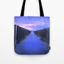 The North Sea beach in the Netherlands, Zeeland Tote Bag