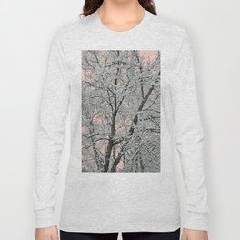 Big Tree In Snow Long Sleeve T-shirt