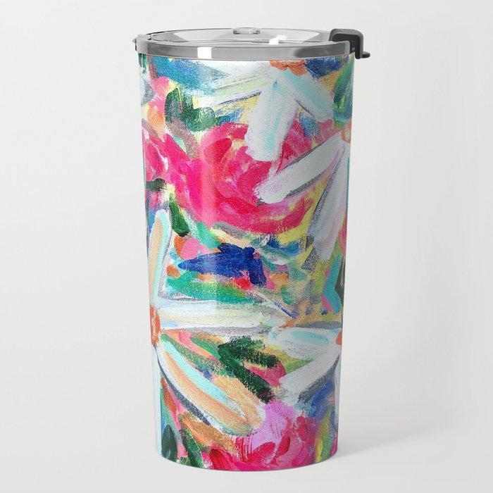 Feel Good Flowers! Travel Mug