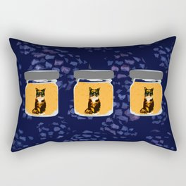 Triple Marmalade Rectangular Pillow