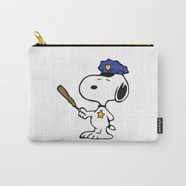 Funny Snoopy Police Carry-All Pouch
