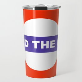 Mind The Gap Logo Travel Mug