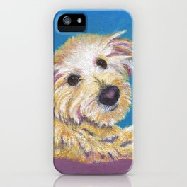 Chance, the Therapy Dog iPhone Case