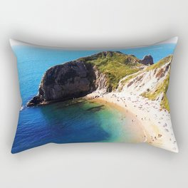 West Lulworth cove 2 Rectangular Pillow
