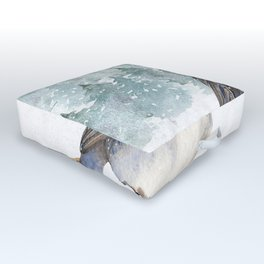 Winter wonderland 7 Outdoor Floor Cushion