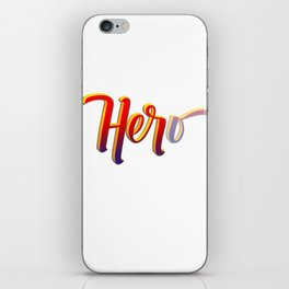 HER-o iPhone Skin