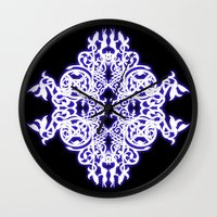 gothic Wall Clocks featuring Gothic  by pwrighteous