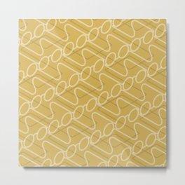 Pattern Specs Metal Print