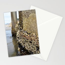 Shells Under the Pier Stationery Cards