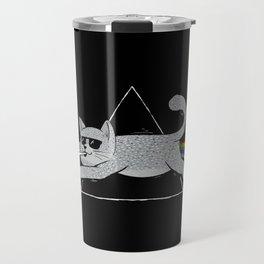 The Dark Side of Cats Travel Mug