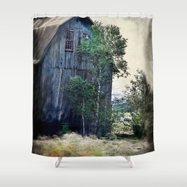 Browns fishery Shower Curtain