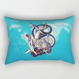 Heart of Illuminati Rectangular Pillow