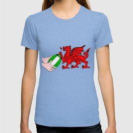 Wales Rugby Flag T-shirt