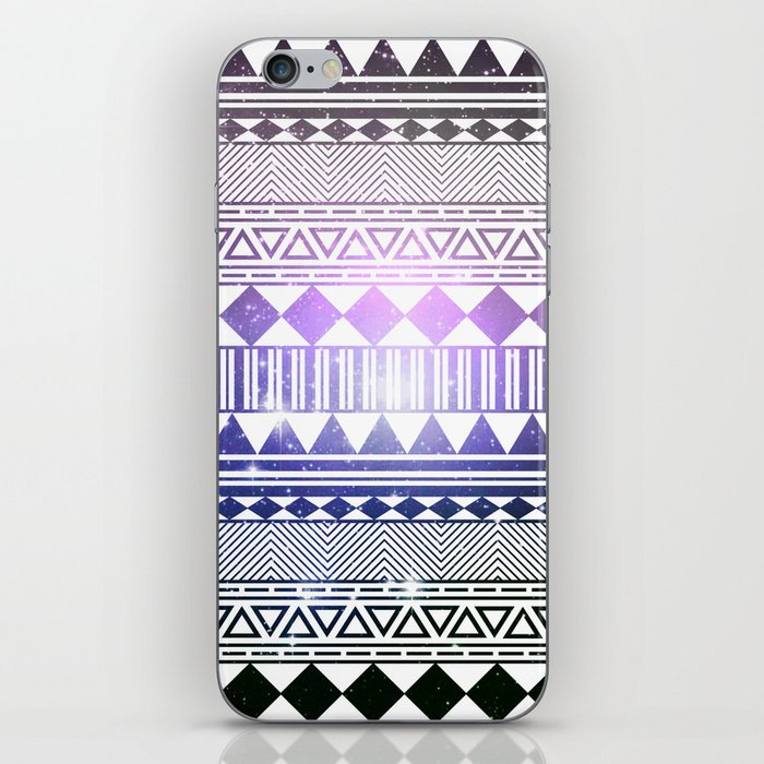 galaxy navajo tribal pattern iPhone Skin