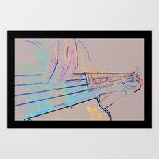 Bass-ics Art Print