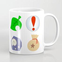 Animal Crossing Icons Coffee Mug